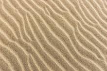 Sand On The Beach. Sandy Beach...
