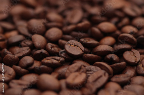 Fotografie, Obraz  Roasted coffee beans
