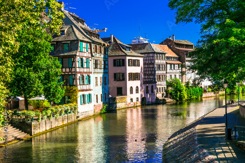 Romantic old town of Strasbourg