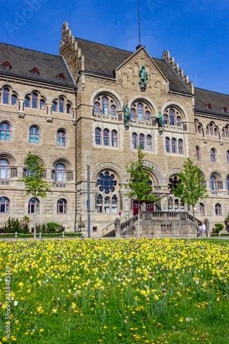 Fotografie, Obraz  Preußisches Regierungsgebäude (prussian government building), Koblenz, Germany