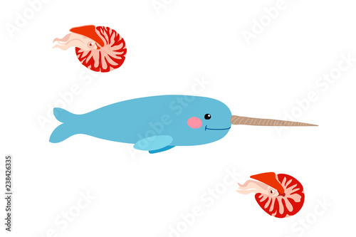 Fotografie, Obraz  vector cartoon animal clip art