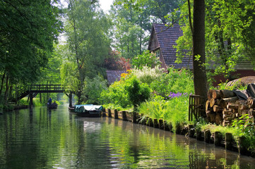 Spreewald Haus am Fliess - Spree Forest house on the water