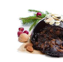Homemade Christmas Pudding Iso...