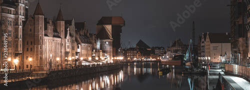 fototapeta na drzwi i meble Gdansk, Old Town, Poland