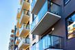 Leinwanddruck Bild - Fragment of modern house apartment copy space