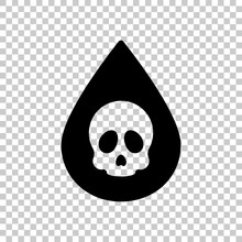 Drop Of Poison Or Acid With Sk...