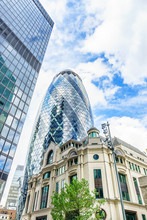 The Gherkin Building In London's Financial District