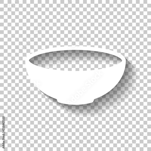 Photo  Empty bowl icon