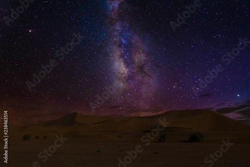 Photo  Dune e stelle