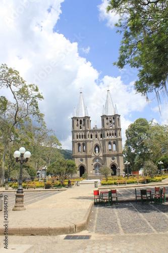 Parque Principal Jardin Antioquia Colombia Buy This Stock Photo