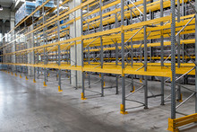 Metallic Racks In Warehouse