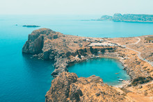Aerial View Of Dodecanese Isla...