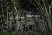 Abandoned Wooden Building By B...