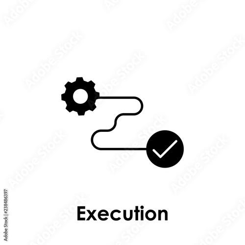 Fotografía  gear, connection, execution icon