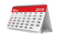 2019 Year. Calendar For May. I...
