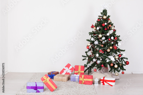 Garland Lights New Year Gifts Christmas Tree Holiday White House