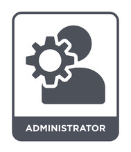 Administrator Icon Vector