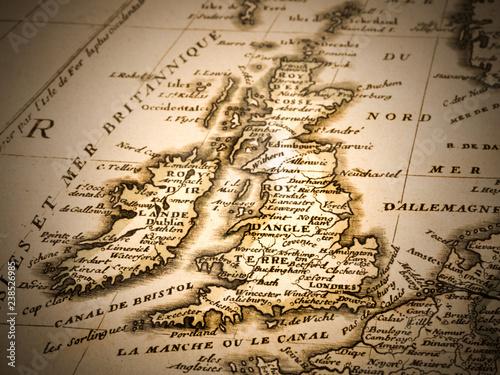 Fotografía  古地図 イギリス