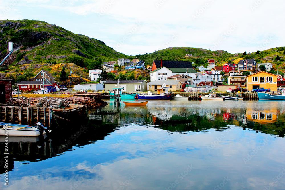 Fototapety, obrazy: Coastal village