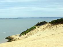 Dune Of Pilat (Dune Du Pyla) - The Tallest Sand Dune In Europe, Atlantic Ocean, Arcachon Bay, Aquitaine, France