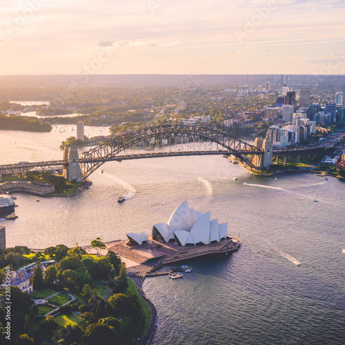 Photo  Sydney from above