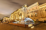 Fototapeta Nowy Jork - The Metropolitan Museum of Art in New York at Night