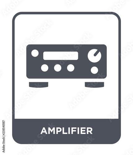Tableau sur Toile amplifier icon vector