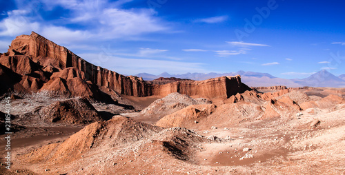 Fotografija  Iconic rock formation in valle de la luna near San Pedro de Atacama feat