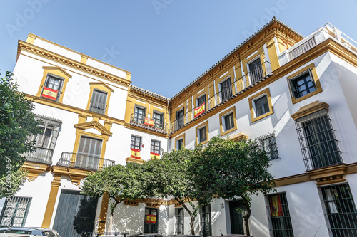 Fotografía Facade of the typical architecture of the city of Seville