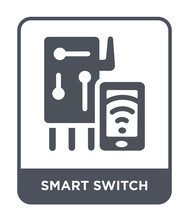 Smart Switch Icon Vector