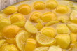 background of lemonade