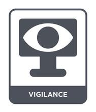 Vigilance Icon Vector