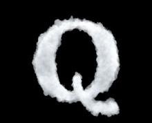 3d Rendering Of A Letter-Q-sha...