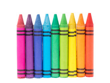 Crayon Isolated On White Backg...