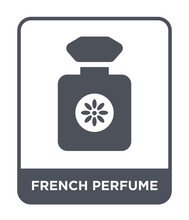 French Perfume Icon Vector