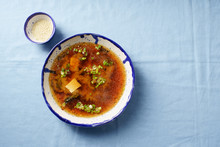 Japanese Miso Soup With Tofu, ...