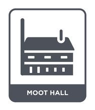 Moot Hall Icon Vector