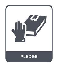 Pledge Icon Vector