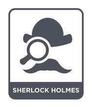 Sherlock Holmes Icon Vector