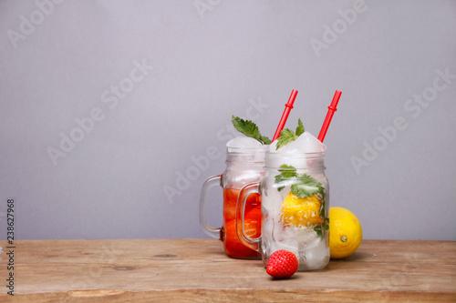 Fotografie, Obraz  zwei cocktail getränke