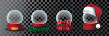Transparent Snow Globe Collect...