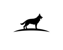 K9 Dog Training Center Logo