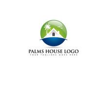 Circle Emblem Logo About Beach...
