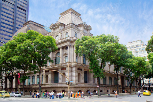 In de dag Centraal-Amerika Landen Rio de Janeiro, Brazil national Museum of fine arts. The Museum is located in a neoclassical building in the centre of Rio de Janeiro.
