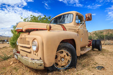 Rusty Old Truck At Hackberry G...