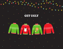 Banner For Ugly Sweater Party