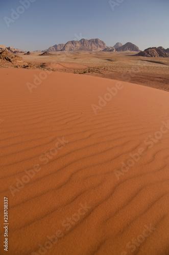 Photo  Wüste Wadi Rum, Jordanien
