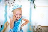 Snow Maiden princess girl
