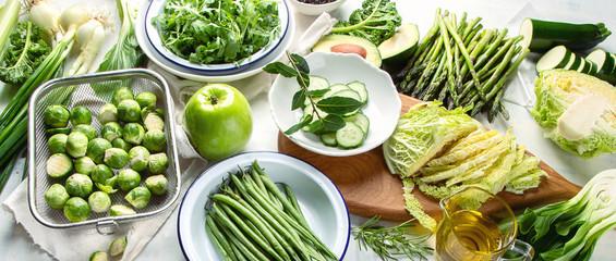 FototapetaGreen vegetables