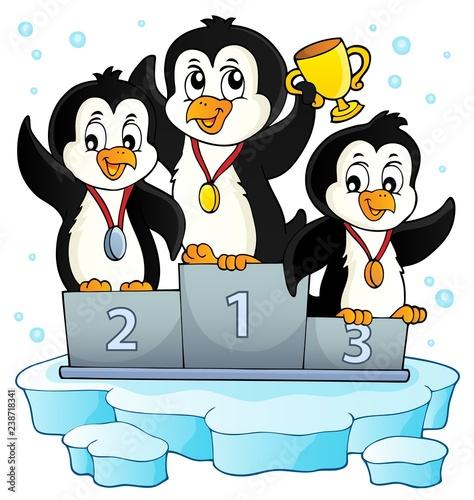 Penguin winners theme image 2